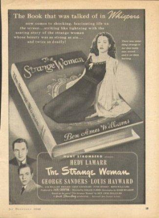 strange woman movie ad