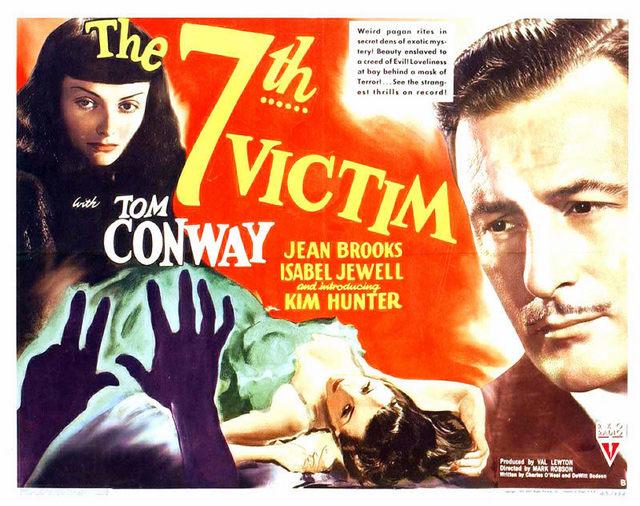 THE 7TH VICTIM VAL LEWTON