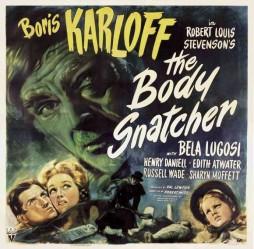 THE BODY SNATCHER 1945 lobby card Boris Karloff