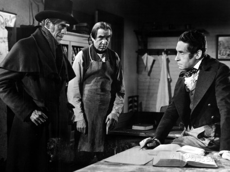 THE BODY SNATCHER KARLOFF LUGOSI AND HENRY DANIEL