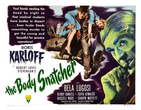 THE BODY SNATCHER KARLOFF