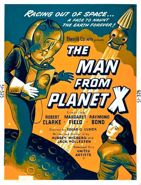 The Man From Planet X 1951 Poster
