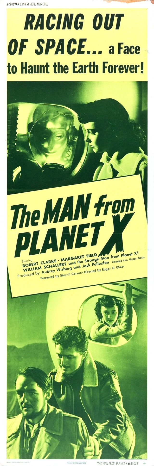 THE MAN FROM PLANET X  ad 1951