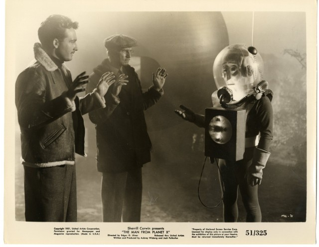 THE MAN FROM PLANET X  lobby 1951