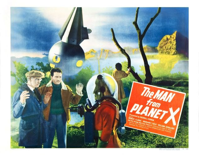 The Man From Planet X lobby