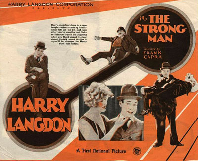 THE STRONG MAN (Dir Frank Capra) Harry Langdon