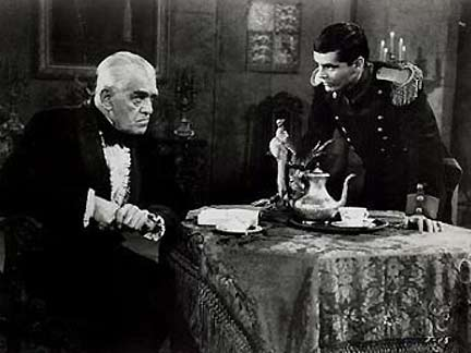 The Terror (1963 dr. Roger Corman). Boris Karloff & Jack Nicholson
