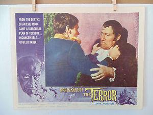 THE TERROR LOBBY CARD