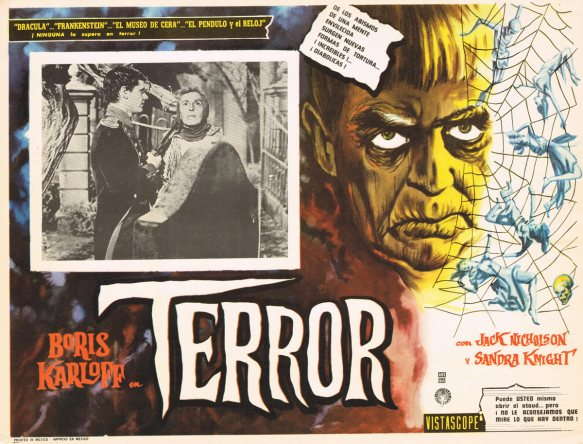 THE TERROR MEXICAN LOBBY CARD