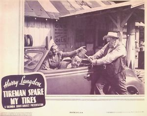 TIREMAN SPARE MY TIRES HARRY LANGDON
