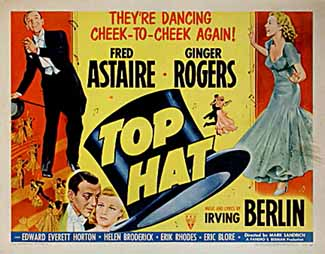 Top Hat Poster