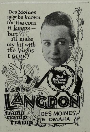 TRAMP AD LANGDON