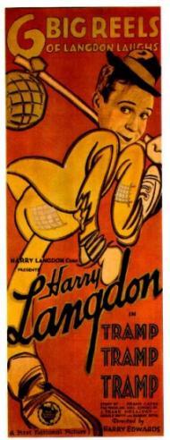 TRAMP, TRAMP, TRAMP POSTER (1926)