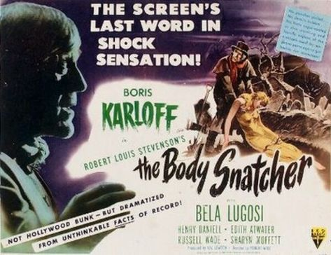VAL LETWON'S THE BODY SNATCHER
