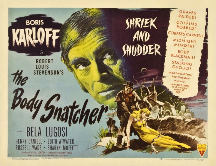 VAL LEWTON'S THE BODY SNATCHER POSTER