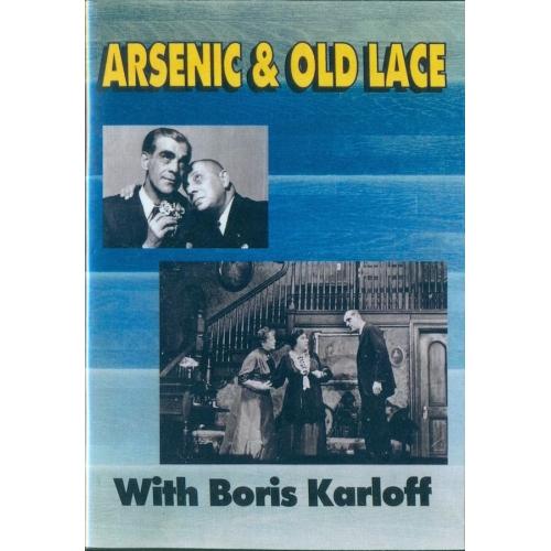 Arsenic and Old Lace Boris Karloff