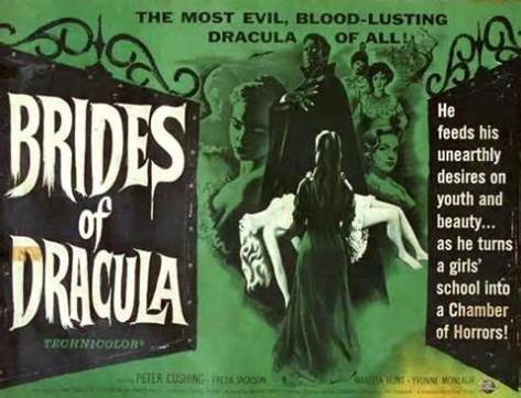 BRIDES OF DRACULA (dir. Terence Fisher, 1960)