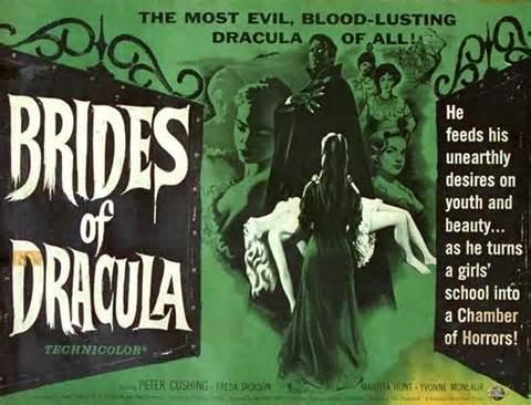 BRIDES OF DRACULA (dir. Terence Fisher, 1960)