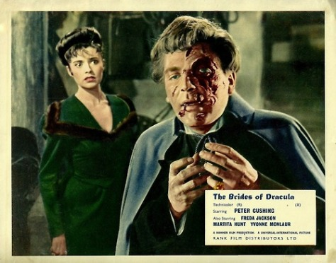 BRIDES OF DRACULA lobby card
