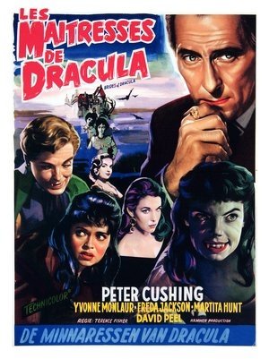 BRIDES OF DRACULA (Terence Fisher) Peter Cushing, David Peel