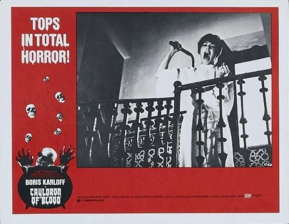 Cauldron of Blood aka Blind Man's Bluff (Lobby Card) 1970