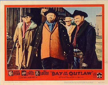 DAY OF THE OUTLAW (1959) LOBBY CARD