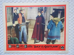 DAY OF THE OUTLAW 1959 LOBBY CARD