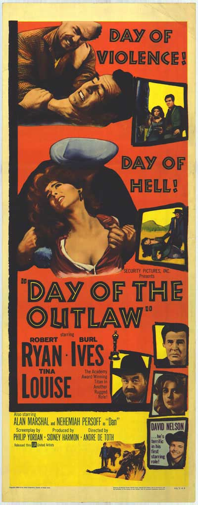 DAY OF THE OUTLAW 1959 POSTER