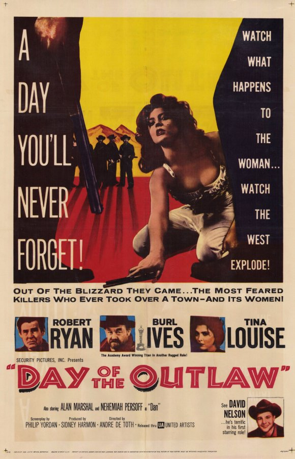 Day Of The Outlaw movie poster 1959