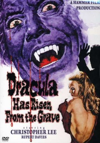 Dracula Has Risen From The Grave poster Christopher Lee Veronica Carlson