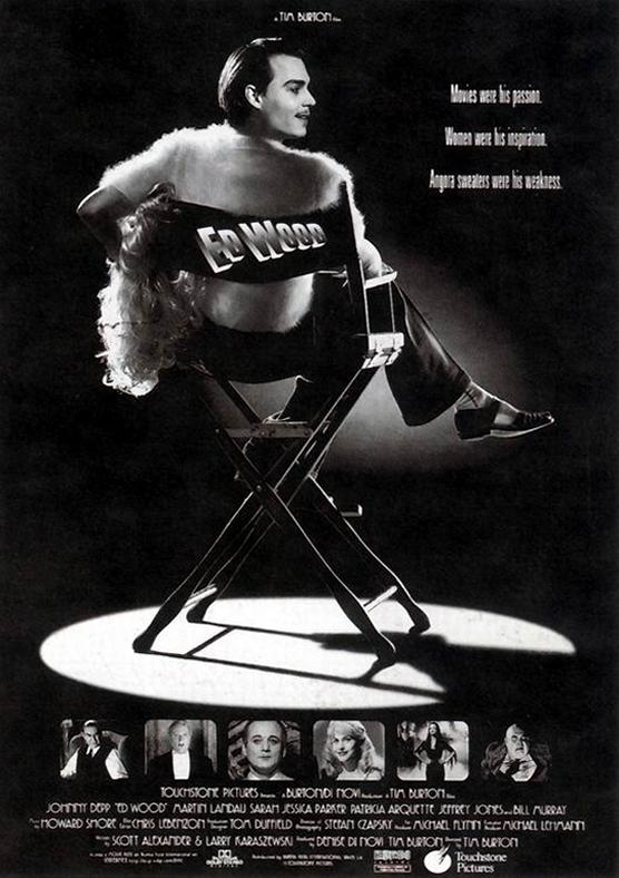 ED WOOD (1994) poster