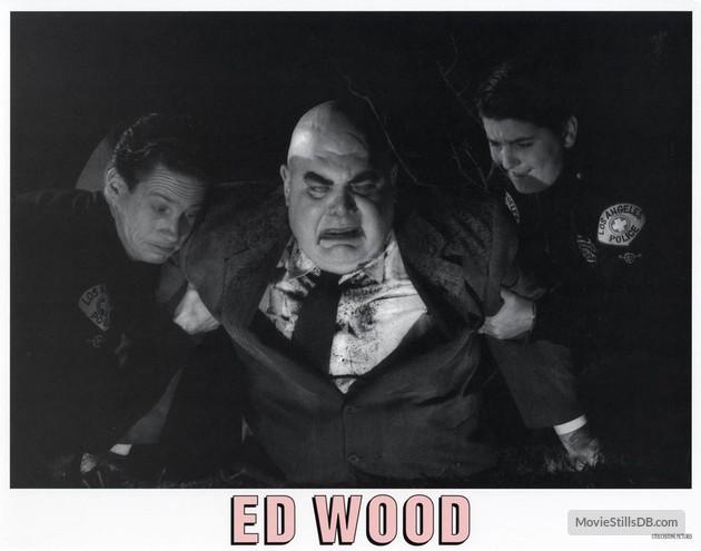 ED WOOD LOBBY CARD