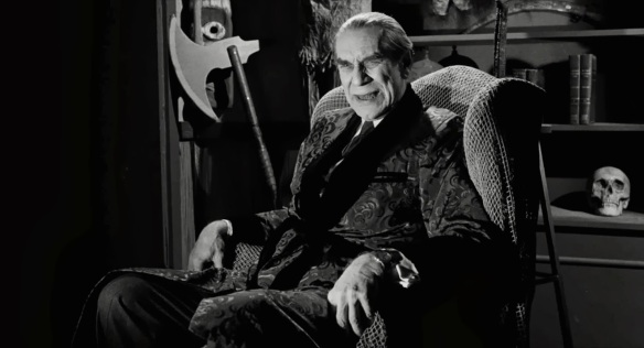 Ed Wood (Martin Landau as Bela Lugosi)