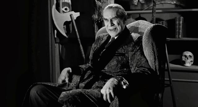 Ed Wood (Martin Landau as Bela Lugosi)