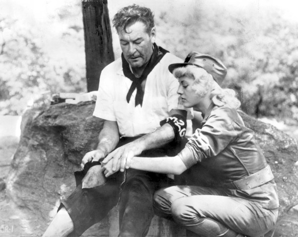 Errol Flynn, Beverly Aadland %22Cuban Rebel Girls%22
