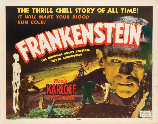 Frankenstein (1931) lobby card