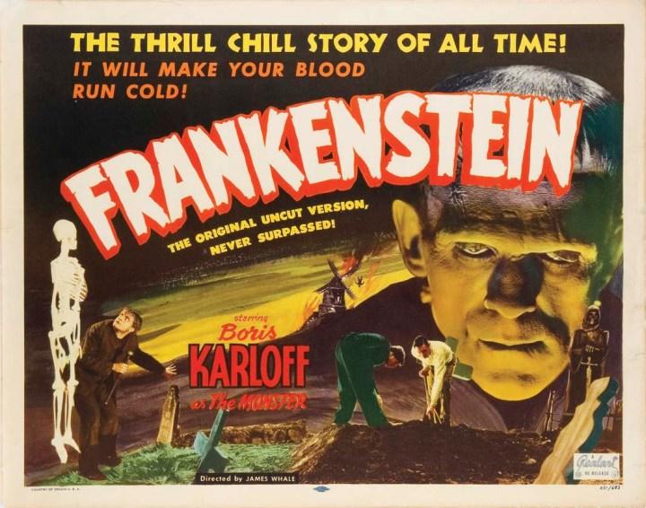 Frankenstein (1931) lobby card