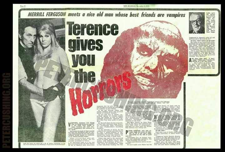 Frankenstein And The Monster From Hell  news article