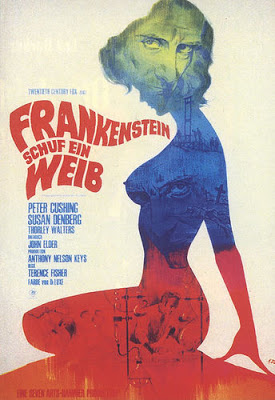 FRANKENSTEIN CREATED WOMAN 1967 ad