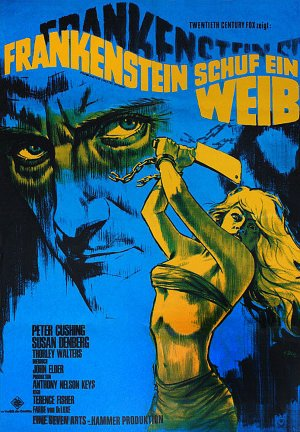 Frankenstein Created Woman ad copy