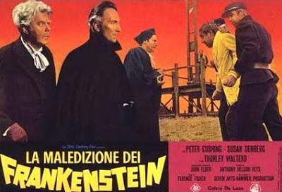 Frankenstein created woman ad