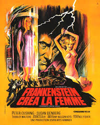 FRANKENSTEIN CREATED WOMAN poster