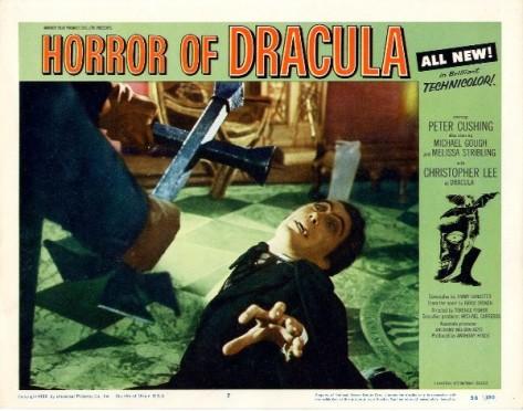 Horror of Dracula (1958) Lobby Card