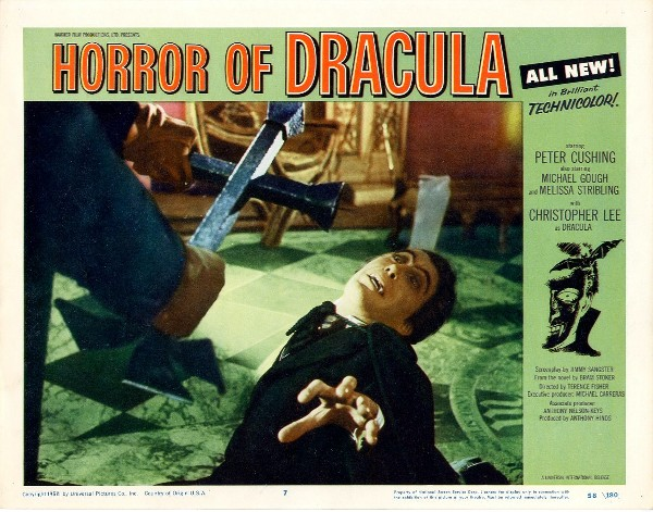 Horror of Dracula (1958) Lobby Card