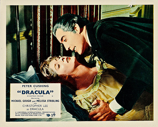 Horror of Dracula (1958, Trrence Fisher) lobby card