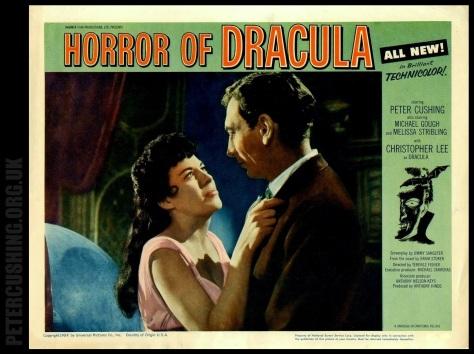 HORROR OF DRACULA LOBBY CARD