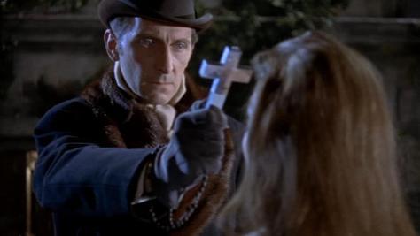 Horror of Dracula. Peter Cushing as Van Helsing