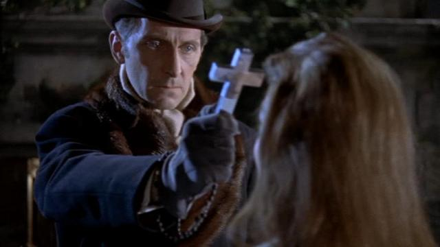 Horror of Dracula. Peter Cushing as Van Helsing