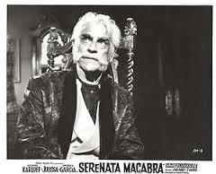 House of Evil (1968) lobby card. Boris Karloff