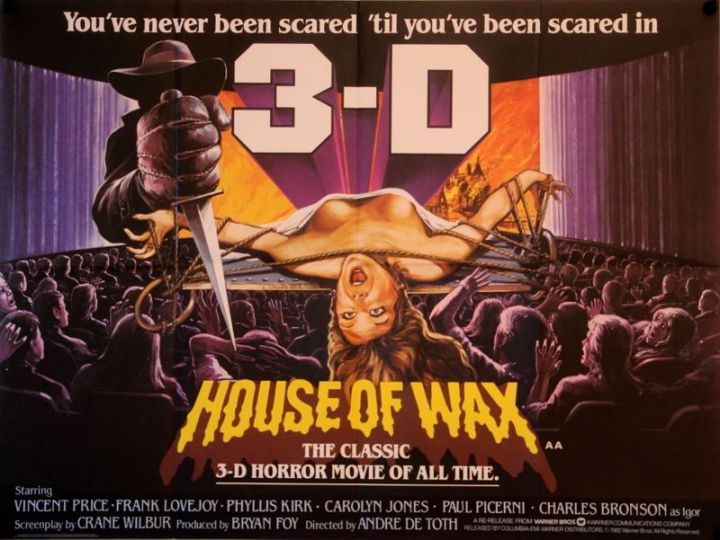 House of Wax 3D RR Quad
